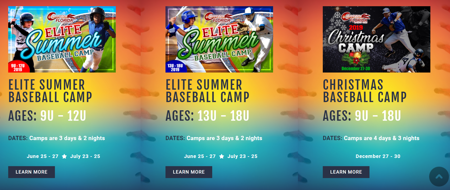 ELITE SUMMER BASEBALL CAMP