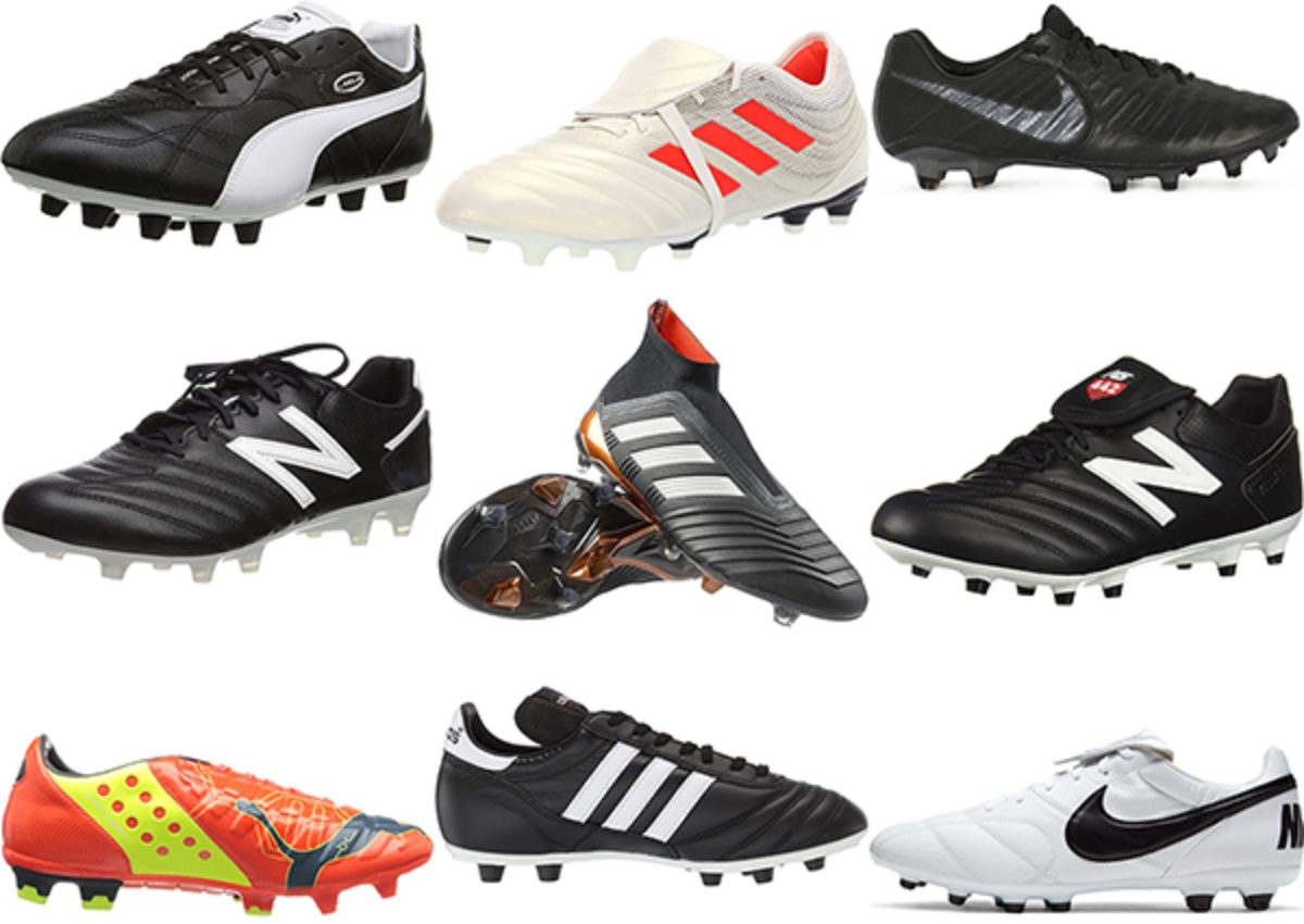 best leather soccer cleats