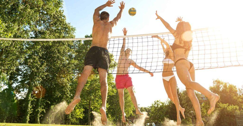 best outdoor volleyball net coastalfloridasportspark 1