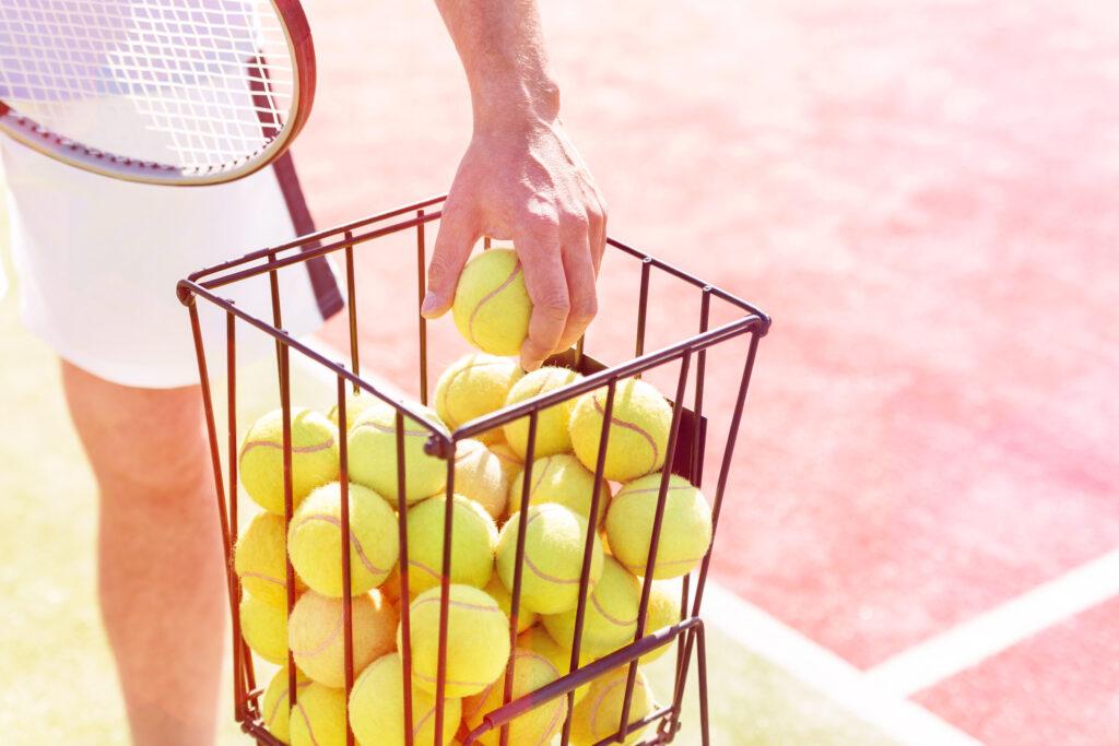best tennis ball hopper