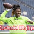 One handed NFL playe coastalfloridasportspark