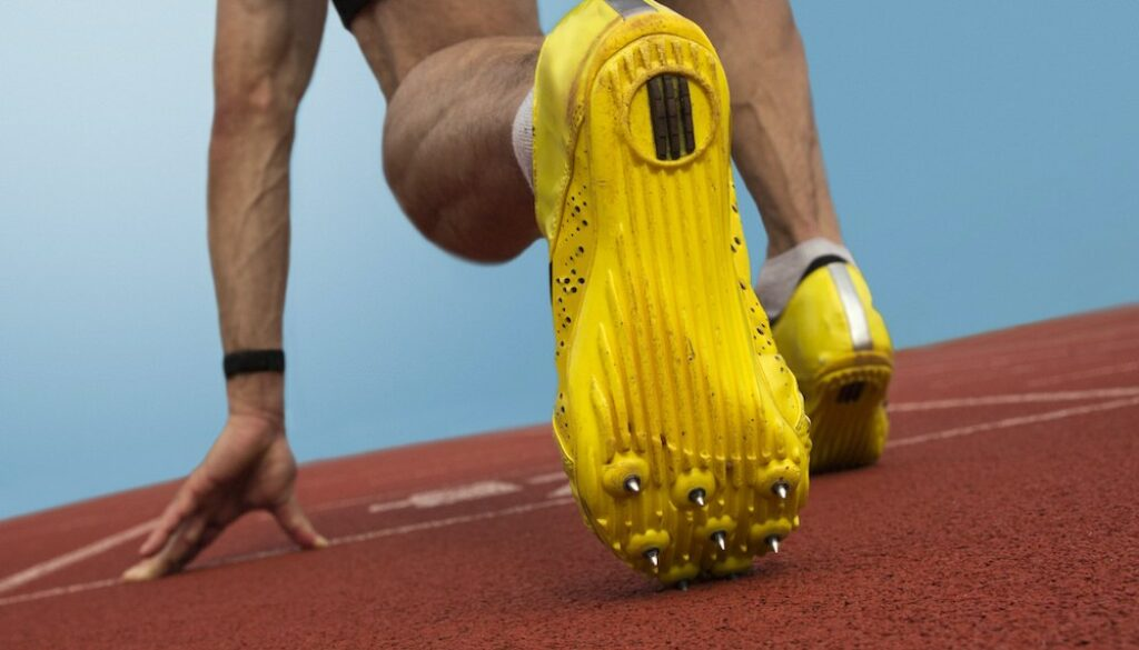 Track spikes and cross country spikes