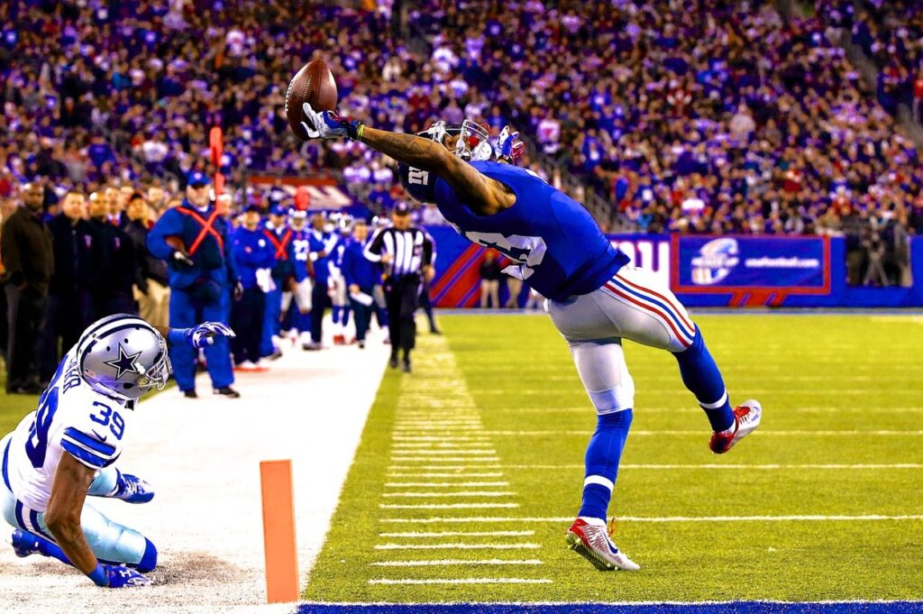 best catches in football history