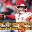 How to grip a football coastalfloridasportspark