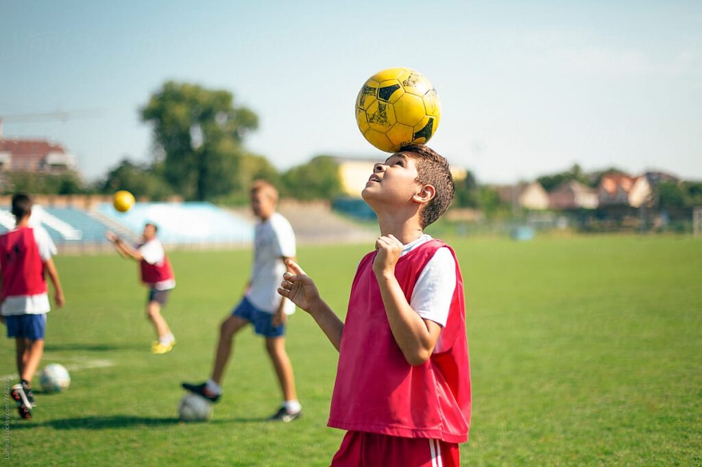 How To Head A Soccer Ball
