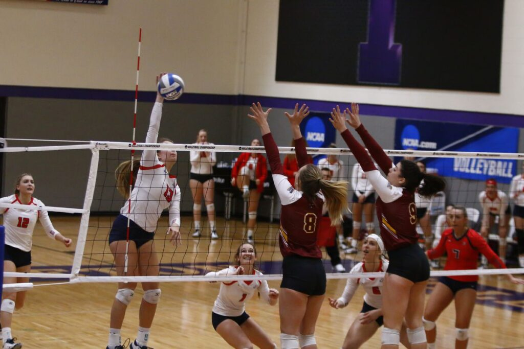 Outside Hitter Volleyball Position