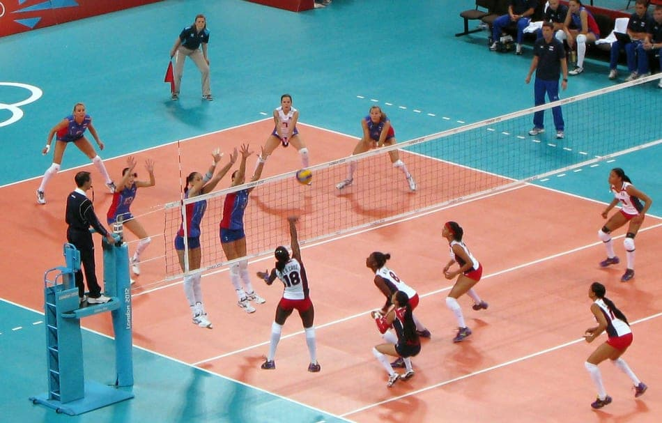 Attack Line In Volleyball