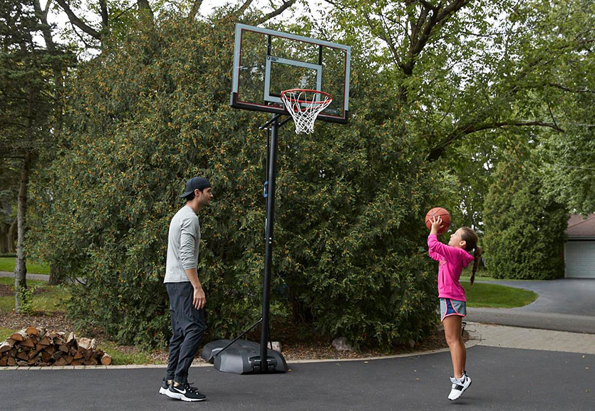 Tips for Filling a Portable Basketball Hoop