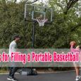 tips for filling a portable basketball hoop coastalfloridasportspark
